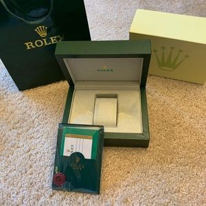 Rolex Watch Box New
